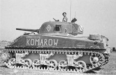 Sikorski Museum Collection. 1st Krechowiecki Lancers Regiment Komarow Another battle during the Polish Bolshevik War ( Poles really hated the Soviets). A fairly early-ish M4A2 Sherman III