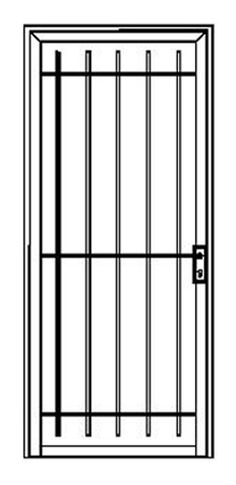 Iron Curtains offer 16 standard security doors designs to choose from, there is an Iron Curtains security door to suit any style of home. The Topline Range of security doors are the perfect choice for traditional cottages, villas and contemporary style homes within Adelaide to keep your property secure.