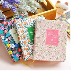 New Arrival Cute PU Leather Floral Flower Schedule Book Diary Weekly Planner Notebook School Office Supplies Kawaii Stationery-in Notebooks from Office & School Supplies on Aliexpress.com | Alibaba Group