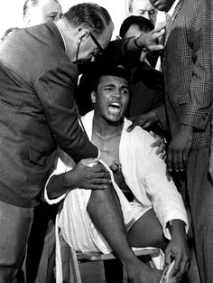 He was just being himself but Cassius Clay's crazy antics at the weigh-in for his first fight with Sonny Liston 50 years ago forever changed weigh-ins into bona-fide media events.