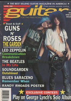 Magazine April GUITAR-GUNS N' ROSES