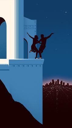 La La Land - Thomas Danthony Illustration