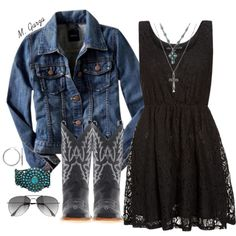 """Cowgirls Up!"" by maria-garza on Polyvore"