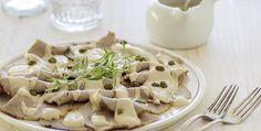 Receta para preparar vitello tonnato, un plato tradicional italiano.