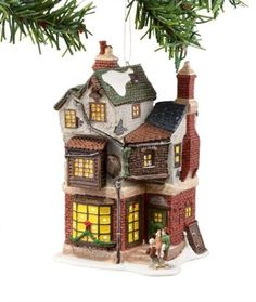 Dickens A Christmas Carol Village from Department 56 Cratchits Corner Mini *** You can find out more details at the link of the image.