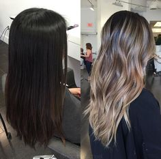 Are you looking for best hair colors to apply for long hair? Just see here, we have made a collection of fantastic long balayage colored hairstyles Brown Hair Balayage, Hair Highlights, Sleep Hairstyles, Curly Wedding Hair, Glamorous Hair, Hair Color And Cut, Dark Hair, Pretty Hairstyles, Hair Looks