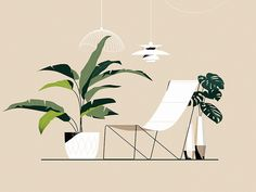 10 Feng Shui Indoor Plants to Spruce Up Your Interior Decor Plants are one of nature's best gifts. Here we give you 10 feng shui indoor plants to spruce up your home interior decor and maybe even your office. Illustration Design Graphique, Art Graphique, Art And Illustration, Feng Shui Indoor Plants, Collage Architecture, Plant Design, Grafik Design, Concept Art, Wallpaper