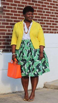 Big Girl Fashion, Black Women Fashion, Curvy Fashion, Plus Size Fashion, Ladies Fashion, Casual Outfits, Fashion Outfits, Dress Outfits, Fashion Ideas