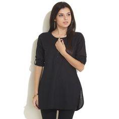 Black Kurti for Women
