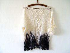 Tie Dye Lacy Sweater