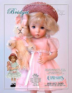 porcelain dolls by dianna effner - Google Search