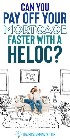 Can You Pay Off your Mortgage Faster with a HELOC? Is it possible to make some risk free money by paying off your mortgage with a home equity line of credit (HELOC)? Mortgage Tips, Mortgage Amortization, Home Equity Line, Mortgage Interest Rates, Private Mortgage Insurance, Credit Card Interest, Debt Payoff, Debt Free
