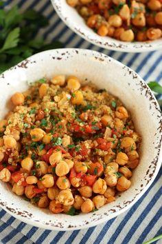 Spicy Chickpea and Quinoa Bowl