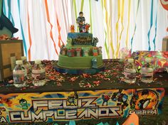 Slugterra party themed