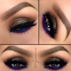 .@elymarino | One of my favorite looks to wear is definitely neutral colors on the lid with...