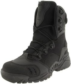 Magnum Men's Spider 8.1 Hydro HPI Work Boot Magnum. $34.99. Leather and mesh. TPU exoframe reinforcement for support. ion-mask hydrophobic surface enhancement. Full-grain leather / 1650 denier ballistic nylon upper with breathable open mesh. Rubber sole. Tec-Tuff leather toeguard resists snags and abrasions. Vent-Guard sandproof ventilator technology