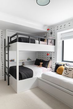 4 Reasons You Should Install Bunk Beds In Your Bedroom – Home Dcorz Home Room Design, Bedroom Sets, Bed Design, Bed For Girls Room, Room Design Bedroom, Kids Bedroom Designs, Bunk Bed Rooms, Bunk Bed Designs, Dream Rooms
