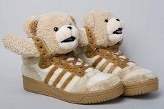 17ea5b934a6f 2011 Adidas original Teddy Bear model by US designer Jeremy Scott. Cute! Jeremy  Scott