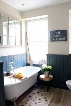 An understated family bathroom