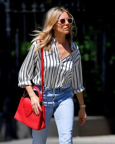 Casual Street Style, Casual Chic, Daily Fashion, Spring Fashion, Sienna Miller Style, Casual Outfits, Fashion Outfits, Style Guides, Ikon
