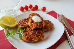 sia´s soulfood foodblog: Tomatenfrikadellen - Ntomatokeftedes