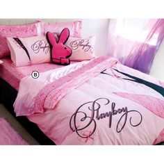 Playboy Logo items | Playboy Lace Quilt Cover Set - Queen | Quilt Covers - Licensed | Great ...
