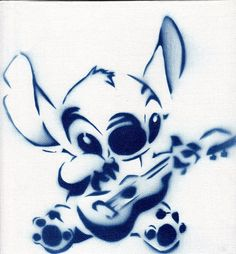 Would make for a great tattoo idea.   Stitch by J-Poetic