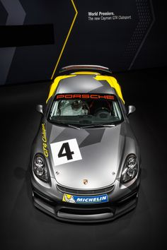To the love of all things Porsche | itcars:   New Porsche Cayman GT4 Clubsport for the...