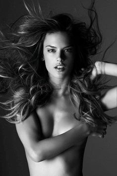 Alessandra Ambrosio by Rusell James