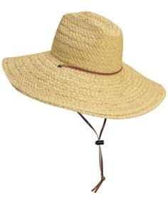 Dorfman Pacific Men Raffia Lifeguard Hat. Sombreros De HombreSombreros Para  ... b224a32a20b