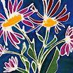 Paper Batik Waxography by  Joyce Francis