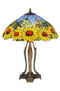 Sunflower lamp ______________________________ Disclaimer: This image will take you to SuitableLamps.com where you can browse our products and purchase if you'd like. Pricing, availability and promotions subject to change without notice.