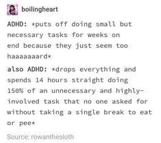 Do I Have Adhd, Adhd Quotes, Quotes Quotes, Adhd Funny, Adhd Humor, Adhd Facts, The Afflicted, Adhd Brain, Adult Adhd