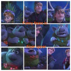 Funny faces - Frozen 9