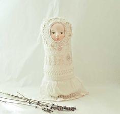 Matryoshka, art cloth doll - Original dolls by PaolaZakimi - DaWanda