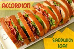 Accordion Sandwich Loaf