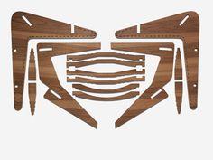 Abbott Miller flat pack chair (FSC certified wood)