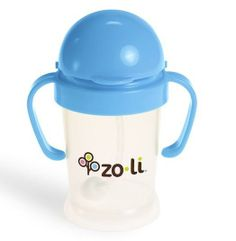 wee needz is carying a new blue Zoli Sippy cup Bot, along with our Orange, Pink and Green
