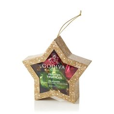 Gold Star Ornament #GODIVA  ($10.00)