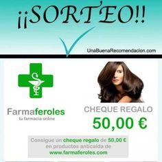SORTEO CHEQUE 50€ PRODUCTOS ANTICAÍDA