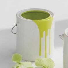 ceramic dripping paint can