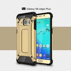 Phone Case for Samsung Galaxy S6 S6 edge plus Cool Armor PC + TPU Combo Protective Cover for Samsung Galaxy S6 edge S6 Edge plus