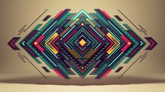 "Short movie ""Pure Geometry"" by Romanowsky by Alexey Romanowski, via Behance"