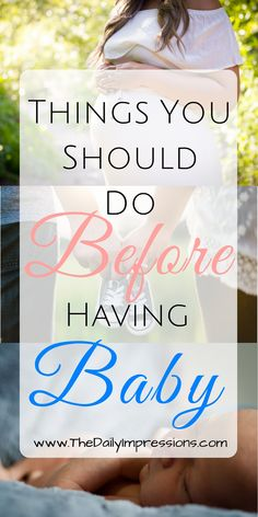 When you're pregnant for the first time and preparing for baby, you purchase the perfect nursery items, pack your diaper bag and get the house ready for the welcome home. However, most moms forget about themselves. Becoming a mother is just as important of a process as giving birth to a child. I'm here to help with that! Here are some tips for things you should do before having baby to make your transfer into motherhood more enjoyable and memorable #beforebabyarrives #thingstodo #Newmomtip