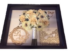 Garden Flowers We Preserve Bouquets After The Wedding Day Contact Us To Find Out More About Saving The Bouquet Custom Shadow Box, Flowers Delivered, Local Florist, Box Design, Preserves, Bouquets, How To Find Out, Birthdays, Wedding Day