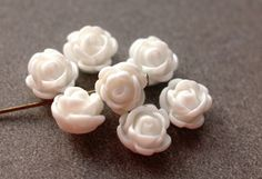 50++Stück+10+mm+Perlen!+von+NoeBisu+-+Material+auf+DaWanda.com