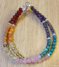 Colorful bracelet idea from Pandahall.com