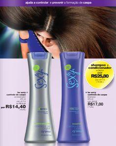 Be sexy - controle de caspas. Shampoo + condicionador Cyzone. Fale comigo: muitomaisbelcorp@gmail.com facebook.com/muitomaislbel campanha agosto/2013