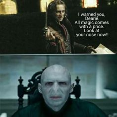 Once Upon A Time-Harry Potter and the Deathy Hallows-Rumplestilskin-Voldemort | AHAHAHAHAHA I LAUGHED HARDER THAN I SHOULD HAVE