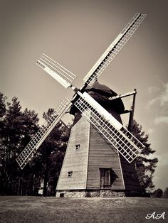 Windmill, Poland, Ania Archer Photography